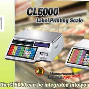 CAS Label Printing Scales