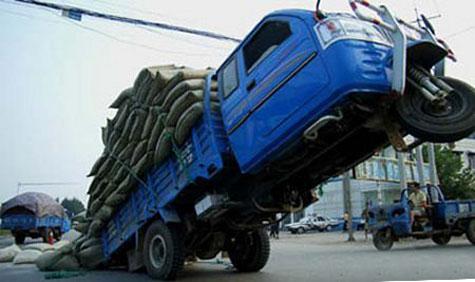 Không đủ cân điện tử để phạt xe quá tải