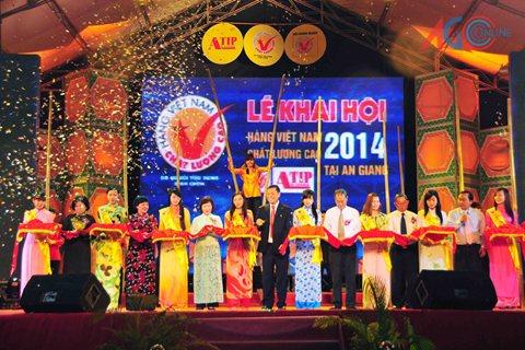 An giang - Doanh nghiệp Hàng Việt Nam chất lượng cao năm 2014