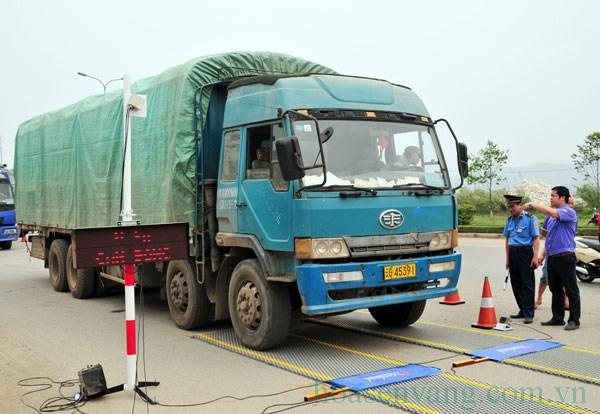 Miền Bắc kiểm tra xe tải - trạm cân xe tải di động