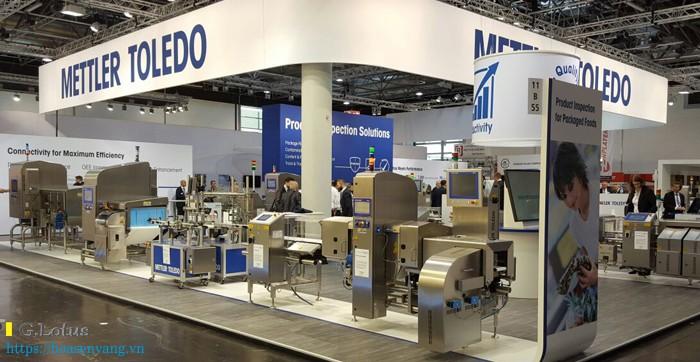 Hãng sản xuất cân điện tử Mettler Toledo tại Châu Âu