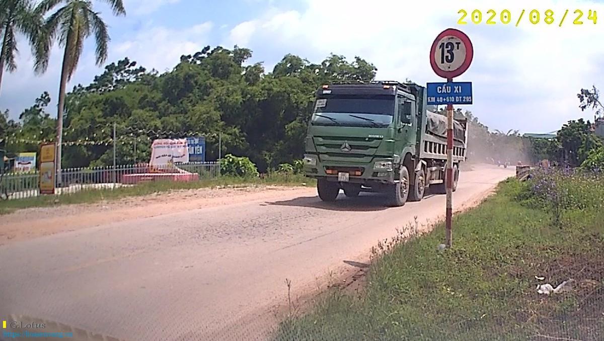 Nhức nhối nạn xe quá tải, quá khổ cài nát giao thông nội tỉnh