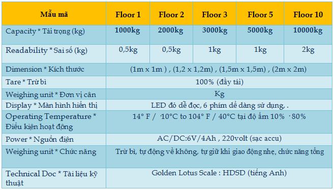 Cân sàn điện tử 1 - Floor scale2